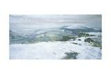 Moorland - Winter, C.2002 Giclee Print by Charles E. Hardaker