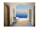 Santorini 9 Giclee Print by Trevor Neal