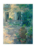 Terrace with Urns Giclee Print by Susan Ryder