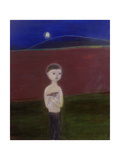 Boy in the Moonlight, 2002 Giclee Print by Roya Salari