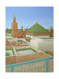 Rooftops, Marrakech Giclée-tryk af Larry Smart