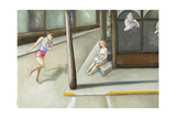 Street Corner Annunciation, 2006 Giclee Print by Caroline Jennings