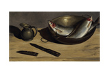 Herrings, Knife and Jug Giclee Print by James Gillick