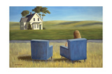 Housesitting Giclee Print by David Arsenault