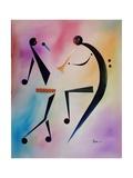 Tamberine Jam, 2006 Giclee Print by Ikahl Beckford