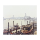 Chelsea Harbour, 2004 Giclee Print by Tom Young