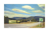 Noonlight in Vermont Giclee Print by David Arsenault