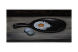 Frying Pan and Eggs Giclee Print by James Gillick
