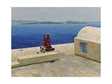 Santorini 6 Giclee Print by Trevor Neal