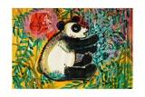 Panda Giclee Print by Brenda Brin Booker