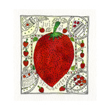Strawberry, 1992 Giclee Print by Julie Nicholls