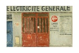 Electricite Generale, 2004 Giclee Print by Delphine D. Garcia