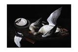 Greylag Geese, 2008 Giclee Print by James Gillick