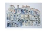 Rue Du Rivoli, Paris, 1987 Giclee Print by Anthony Butera