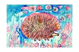 Hedgehog Giclee Print by Brenda Brin Booker