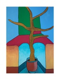 The Bonsai Hasn't Been Watered, 2009 Giclee Print by Jan Groneberg
