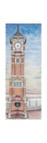 Clock Tower, Morecambe, Lancashire, 2009 Giclee Print by Sandra Moore