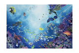Underwater World III, 2002 Giclee Print by Odile Kidd