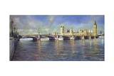 Westminster Bridge, 1993 Giclee Print by Isabel Hutchison