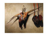 Big Brace of Pheasants Impression giclée par James Gillick