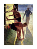 Limbering Up, 1993 Giclee Print by Timothy Easton