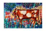Cow Giclee Print by Brenda Brin Booker