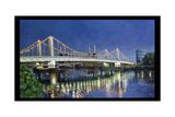 Chelsea Bridge, 1994 Giclee Print by Isabel Hutchison