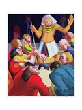 Joseph Cares for His Brothers, 2003 Giclee Print by Dinah Roe Kendall