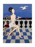 Thief, 2008 Giclee Print by Jenny Barnard