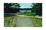 On Gull Pond Giclee Print by Sarah Butterfield