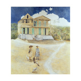 Two Old Sisters, Jacmel, Haiti, 1974 Giclee Print by James Reeve