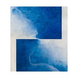 Damascene Moment: Blue and White, 2010 Giclee Print by Mathew Clum
