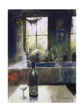 Kitchen Window Giclee Print by John Lidzey