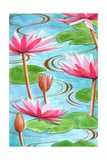 Lotus Flower, 2008 Giclee Print by Jenny Barnard