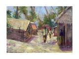 Zanzibar Village, 2001 Giclee Print by Karen Armitage