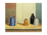 Blue Jug Alone Giclee Print by William Packer