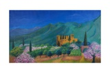 Bel Pais Monastery, Cyprus, 1978 Giclee Print by Bettina Shaw-Lawrence