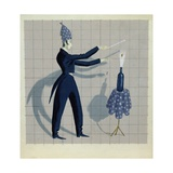At Your Service, C.1942 Giclee Print by John Armstrong
