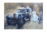 Bentley and Bride Giclee Print by Peter Miller