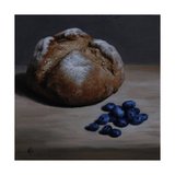 Bread and Blueberries, 2008 Giclee Print by James Gillick