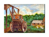Wooldridge Farm, Priory Giclee Print by Nell Hill