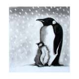 Father and Son Giclee Print by Paul Powis
