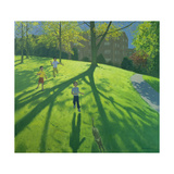 Children Running in the Park, Derby, 2002 Giclee Print by Andrew Macara
