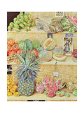 Fruit-Stall, La Laguinilla, 1998 Giclee Print by James Reeve