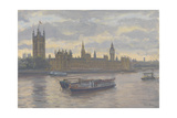 Houses of Parliament, 2010 Giclee Print by Julian Barrow