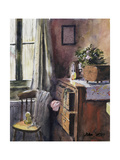 Anna's New Bedroom Giclee Print by John Lidzey