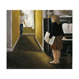 Annunciation with Piano, 2005 Giclee Print by Caroline Jennings