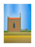 The Chapel, 1999 Giclee Print by Emil Parrag