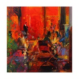 Grand Cafe, Ceret Giclee Print by Peter Graham
