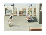 Rooftop Annunciation, 5, 2005 Giclee Print by Caroline Jennings